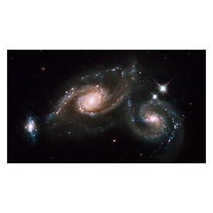 Космические пейзажи. Размер: 35 х 20 см